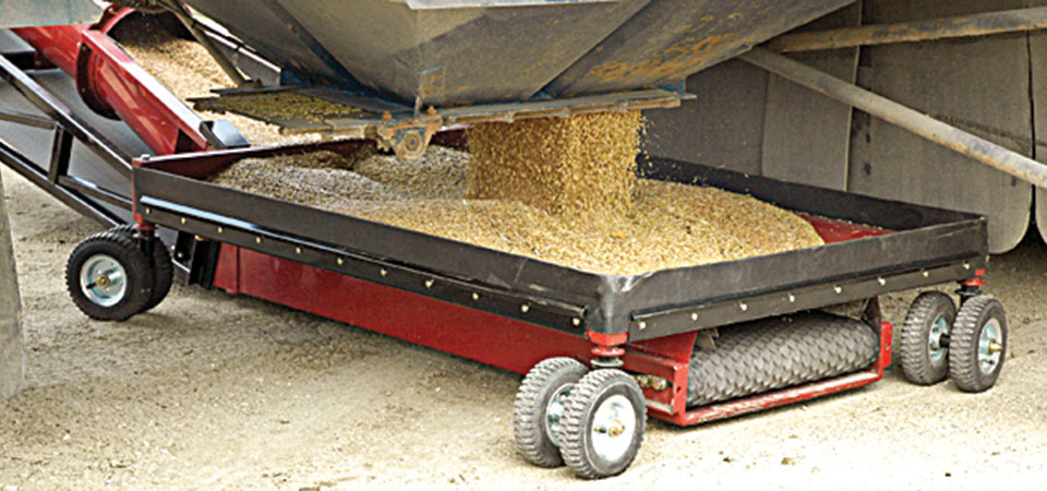 DeKoning Televeyor grain hopper