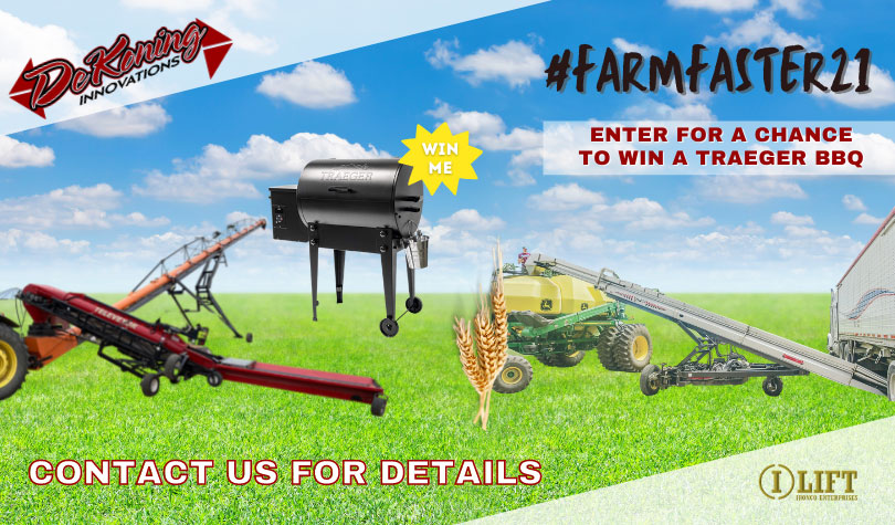 Enter for a chance to win a Traeger BBQ