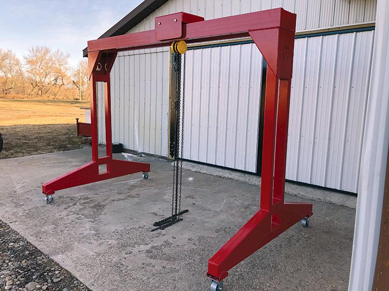 IRONCO Enterprises - I-Lift Gantry Crane